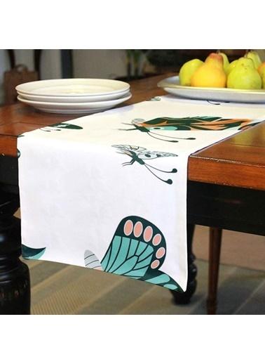 Artikel Sevimli Kelebekler Runner Masa Örtüsü 43,5x141,5cm Renkli